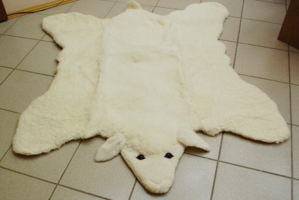 Детский коврик искусственный мех